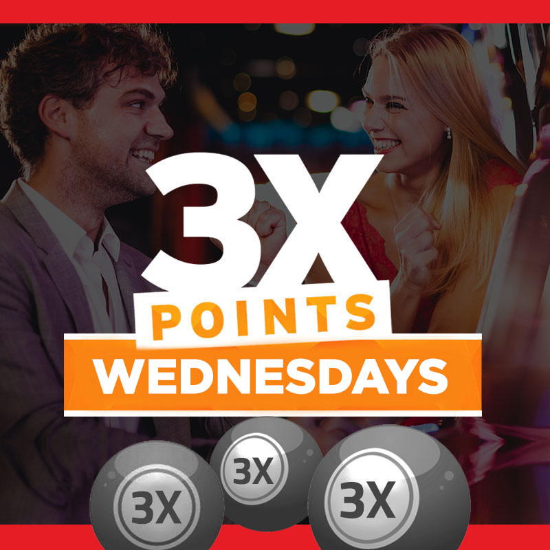 3X POINTS WEDNESDAYS