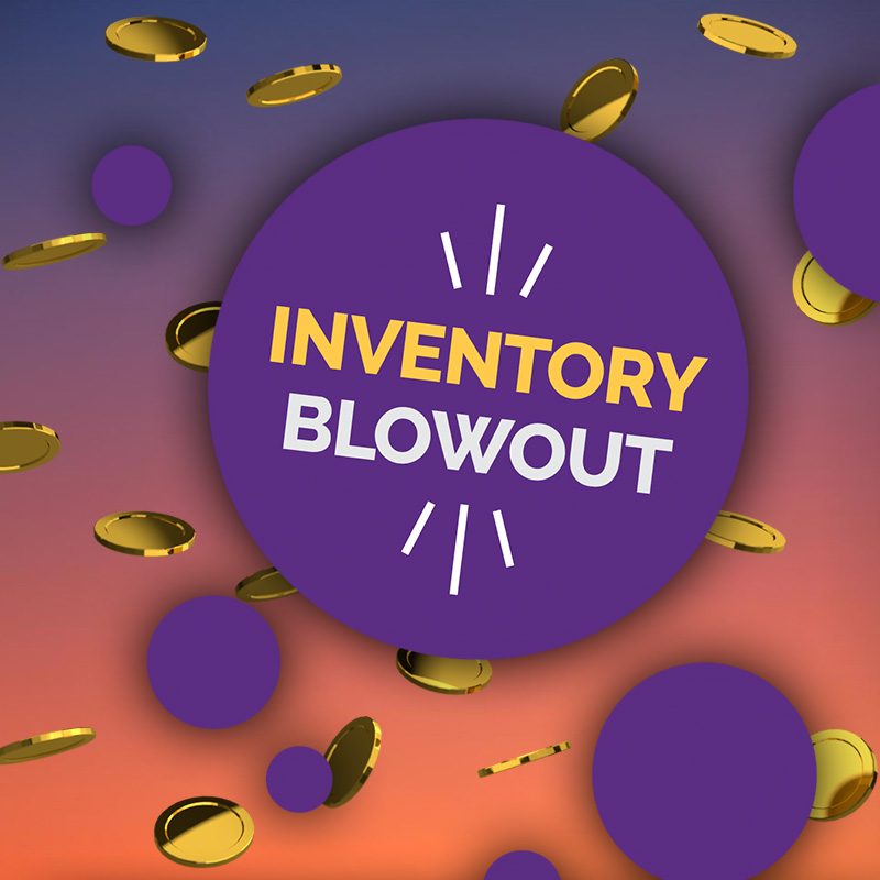 Inventory Blowout Sundays