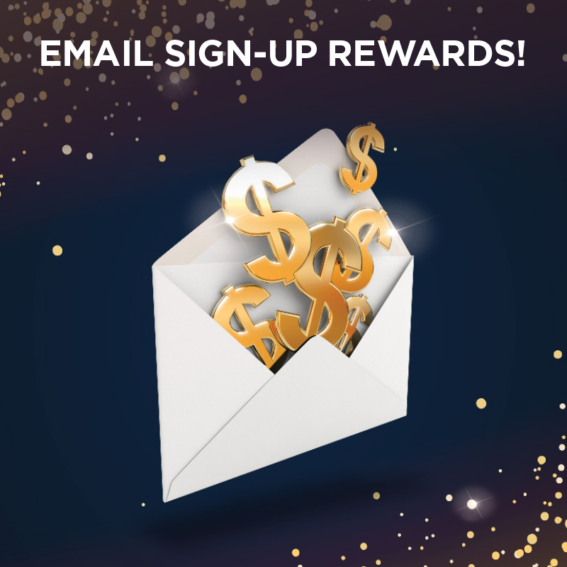 Email Signup Rewards