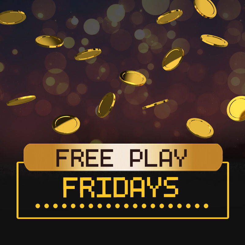 Free Play Fridays In August
