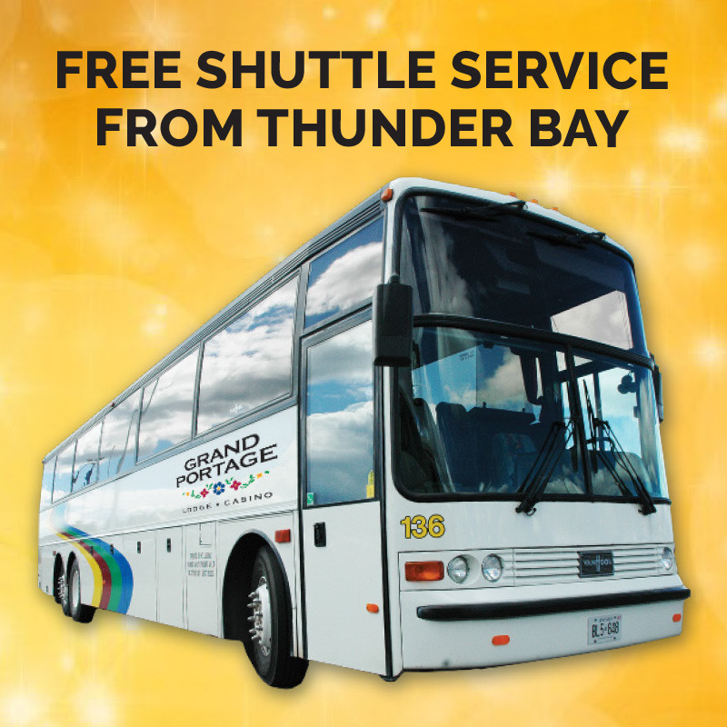 Free Shuttle From Thunder Bay