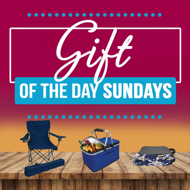 GIFT OF THE DAY SUNDAYS IN MAY