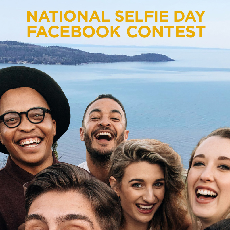 NATIONAL SELFIE DAY FACEBOOK CONTEST