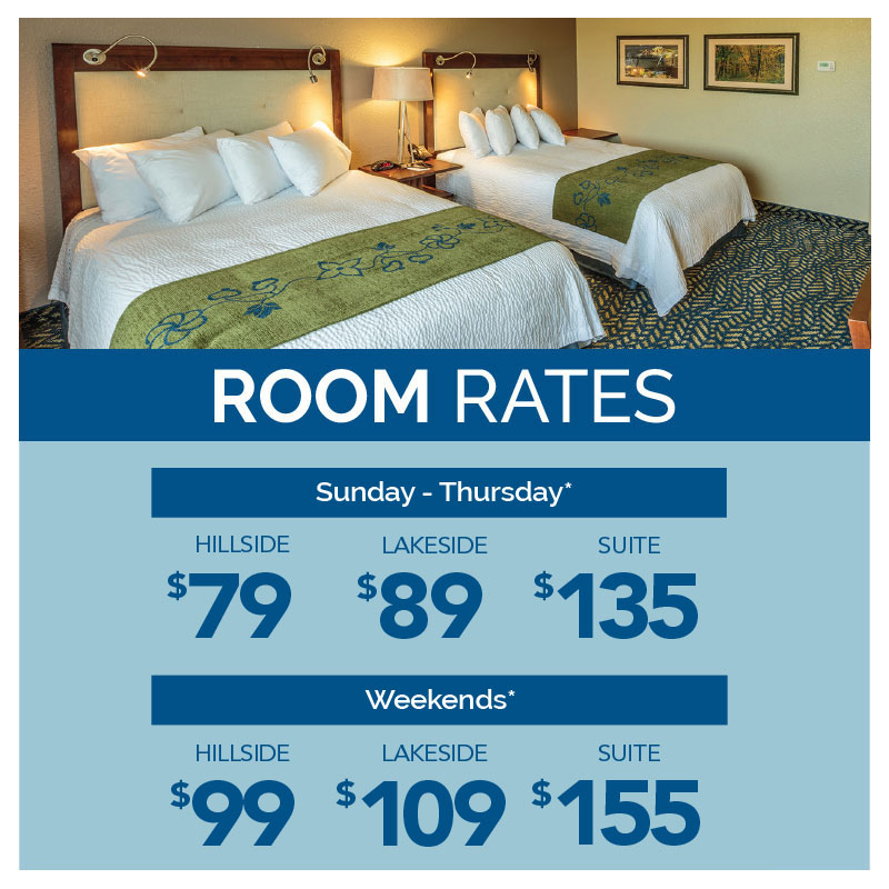 Special Hotel Room Rates January